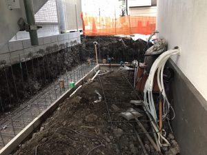 東京品川にて外構工事